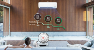 Keunggulan AC LG DUAL COOL with Watt Control