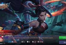 Hanabi Karakter Mematikan di Mobile Legend