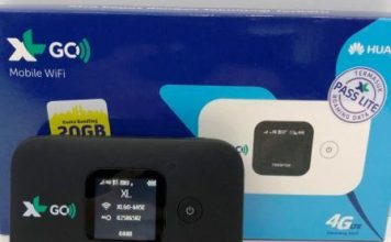 Modem XL Go IZI WiFi 4G Berkualitas Premium