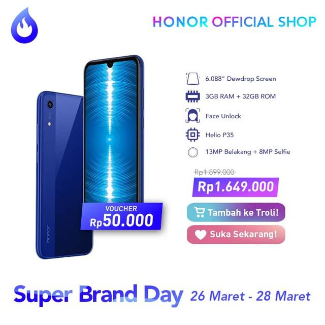 Promosi Honor 8A Indonesia