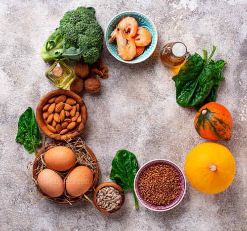 Makanan yang sehat untuk vitamin rambut